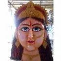 Frp Maa Durga Mata Ji Handicraft Statue, For Temple