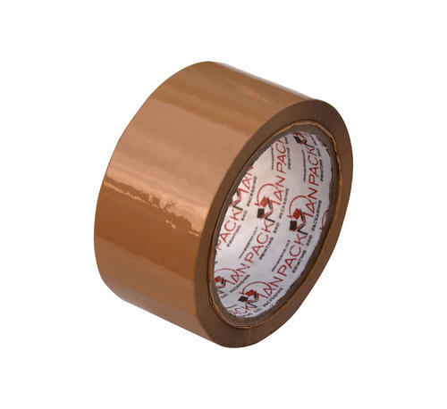 Packman BOPP 72 Mm / 3 Inches Brown Self Adhesive Tape X 65 Meter Length X 40 Microns, for Sealing