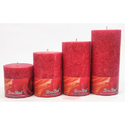 Rose Red Candles
