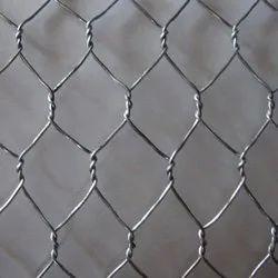 GI Hexagonal Wire Mesh, Size: 2-3 m