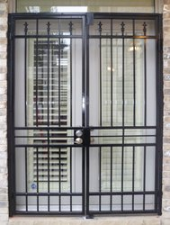 Iron Safety Door Grill