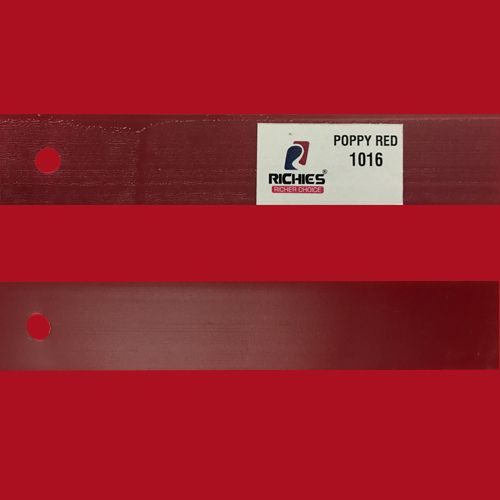PVC Richies Poppy Red Edge Band Tape, Packaging Type: Carton