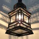 Cari Floor or Hanging White Lamp