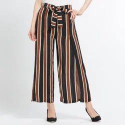 Regular Fit Ladies 3/4 Pants