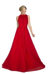 Exclusive Red Readymade Gown