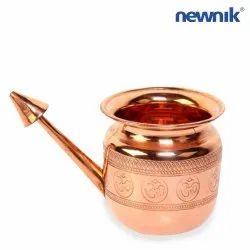 NEWNIK Jala Neti Pot - Copper Om
