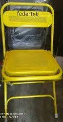 Yellow MS Federtek Colour Folding Chair