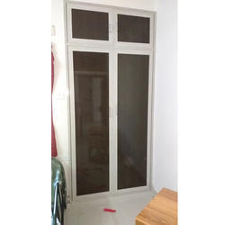 White PVC Glass Door