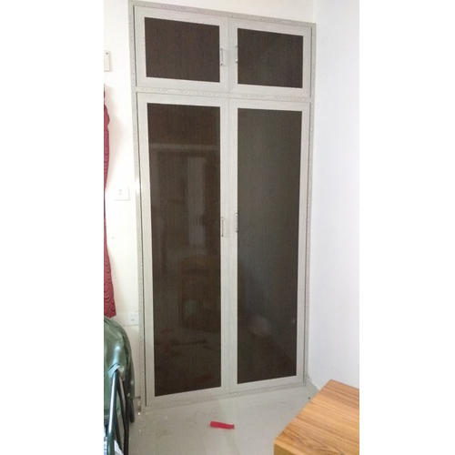 Pvc Door And Pvc Interior Manufacturer: White PVC Glass Door, Rs 250 /square Feet, Annai Interior