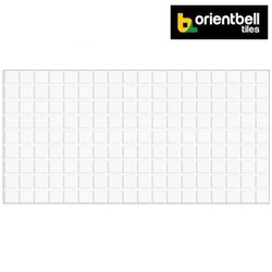 Orientbell Gft Grand Starwhite Glossy Digital Wall Tiles, Size: 300x600 mm