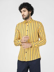 Mens Striped  Shirt