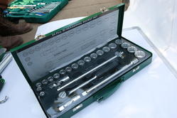 1/2 Sq. Drive Socket Sets- CRV E-2202