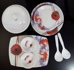 Melamine Printed Dinner Set