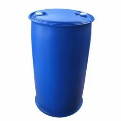 Blue HDPE Narrow Mouth Drum, For Packaging Industry, Capacity: 235 L