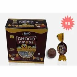 Milk Cream Choco Emotis Chocolate Candy