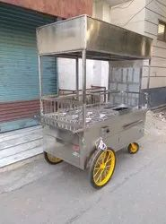 Hottie Food Cart Hand Pushed 601 (Bain Marie and Barbeque )