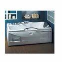 White Fiber Oyster Frontal Bath Tub, 1615 X 830 X 725h
