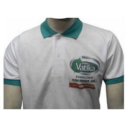 Cotton/Linen Half Sleeve Casual Corporate T Shirt, Size: S-L
