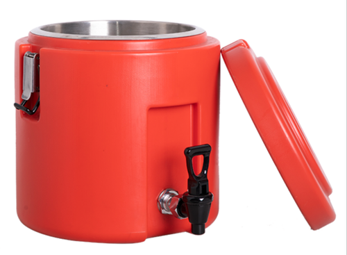 Isothermal Red Round insulated Container