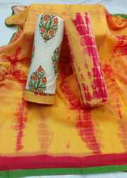 Ladies Katha Work Suit Material