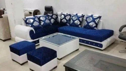 L Shape Sofa Set With Stool