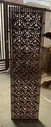 Black Designer MDF Jali, For Partition, Decoration, Size/Dimension: Custom