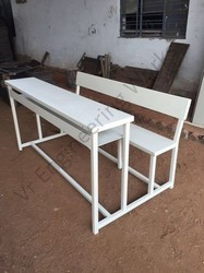 3 Seater College Desk Furniture