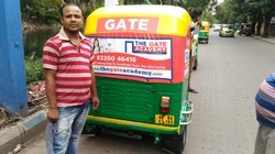 Auto Rickshaw Advertising And Branding Service
