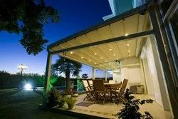 Aluminium Coated Retractable Roof for Residential