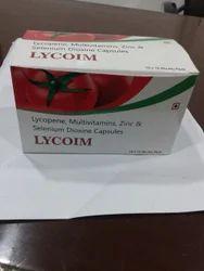 Lycopene Multivitamins Zinc Capsule