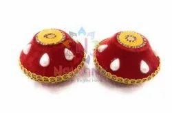 Mitti Red Wedding Product - Samput, Size: 3x3 Inch