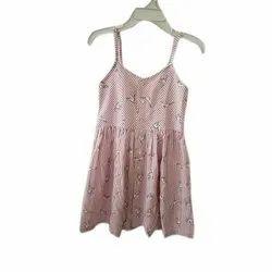 Cotton Casual Ladies Fancy Sleeveless Top, Size: S-XXL