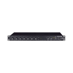 Black 10 Channel Stereo Mixing System