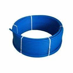 Blue MDPE Coil Pipe