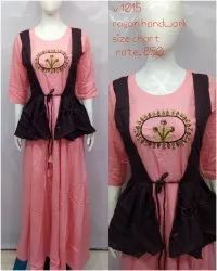 Western Rayon Party Wear Gown