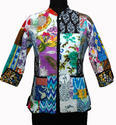 Patchwork Quilted Ladies Jackets
