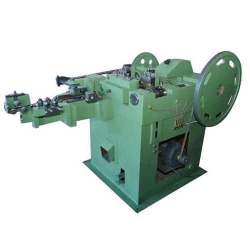 Iron Common Nail Making Machinery, Semi-Automatic