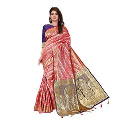 317 Embroidered Art Silk Saree