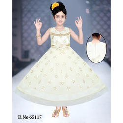 2018 shoes innovative design classic styles White Festive Wear Party Wear Baby Long Frock, Rs 380 /piece | ID ...