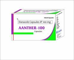 Danazole 100 mg Capsules