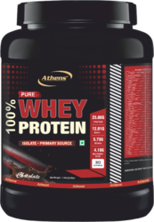 100% Pure Whey Protein Powder, Packaging Type: Bottle
