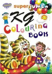 Super Jumbo KG Colouring Book