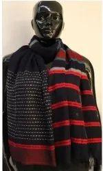 Viscose Wool Jacquard Stole