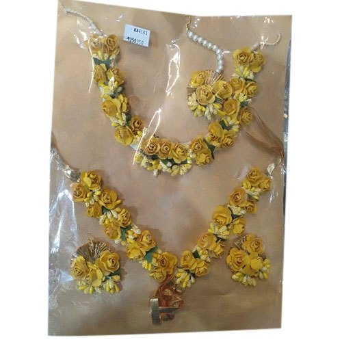 Artificial Flower Mehndi Jewellery Set At Rs 225 Set Flower