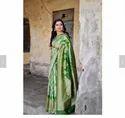 Casual Wear Zari Butti Banarasi Silk Sarees