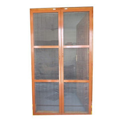 Aluminium Mesh Double Door