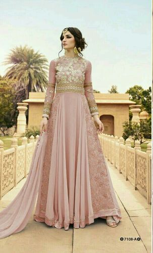Designer Long Gowns RF Glossy 7108 at Rs 1999 /piece | Ladies Gown ...
