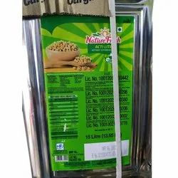 Nature Fresh Refined Oil, Packaging Type: Tin, Packaging Size: 15litre
