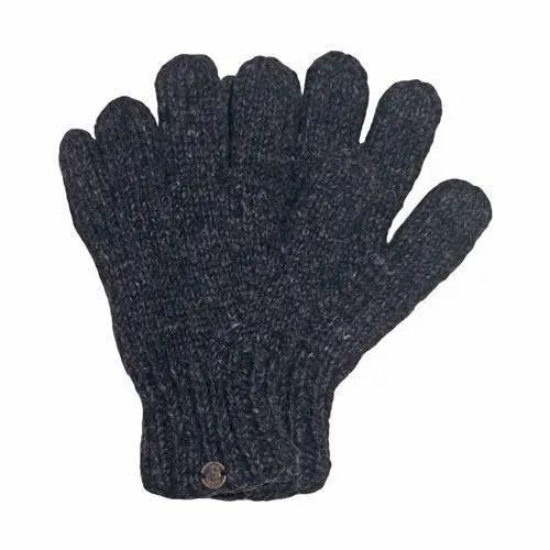 3ceac81b2 Full Finger Black Recycled Knitted Hand Gloves, Rs 40 /dozen   ID ...
