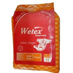 Wetex Adult Diaper X- Large Size
